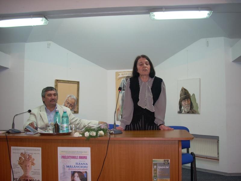 PRELECŢIUNILE JUNIMII-Ileana MĂLĂNCIOIU-26 mai 2011-şedinţa a XI-a Malanc13