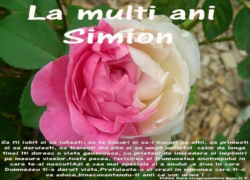 Simion Irofei -din sufletul meu catre voi dragi prieteni Simion11