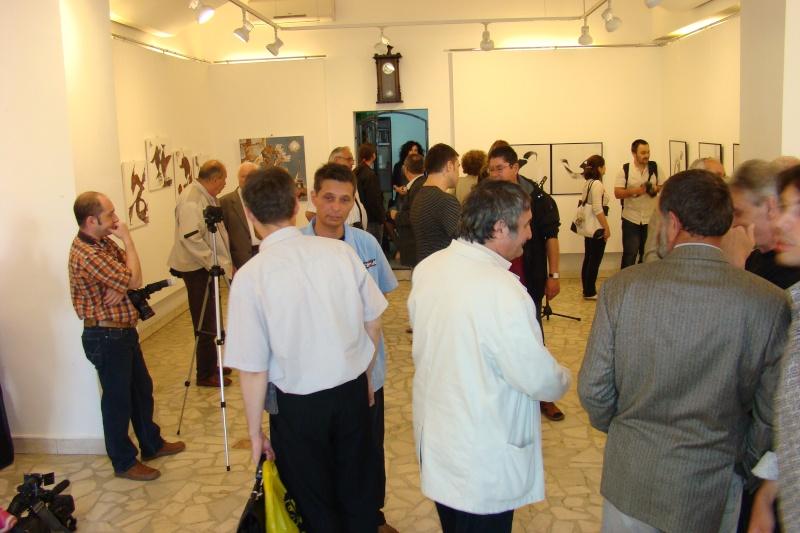 """Vernisaj expozitie:""""FERICIRILE""""-Vasilian Doboş şi """"ŞĂVÎRŞIRILE""""Florin Buciuleac-marti 14 iunie Vernis30"""