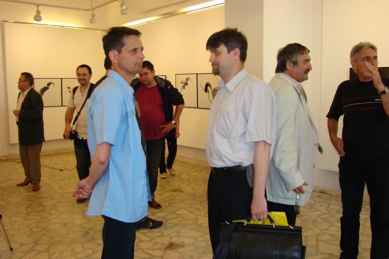 """Vernisaj expozitie:""""FERICIRILE""""-Vasilian Doboş şi """"ŞĂVÎRŞIRILE""""Florin Buciuleac-marti 14 iunie Vernis31"""