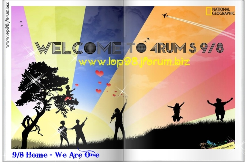 ♥ 9/8 Home ♥ │We Are One │