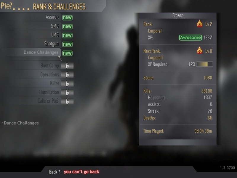 Every SA's member show your stats. Stats110