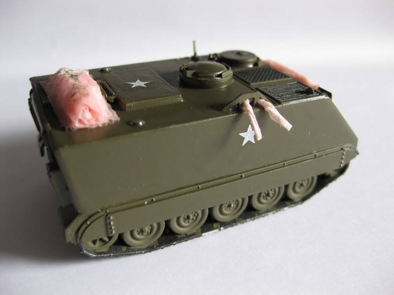 M113 U.S. ACAV [Airfix 1/76 ] ABANDON Photo134