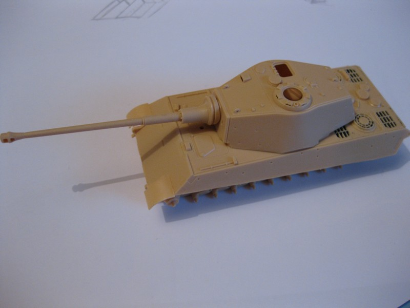Tiger II Ausf. B Production Turret [Revell, 1/72 ]: FINI! (Ouf!) Photo141
