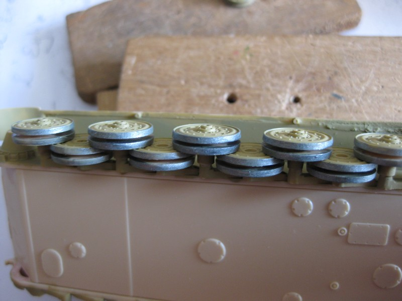 Tiger II Ausf. B Production Turret [Revell, 1/72 ]: FINI! (Ouf!) - Page 2 Photo154
