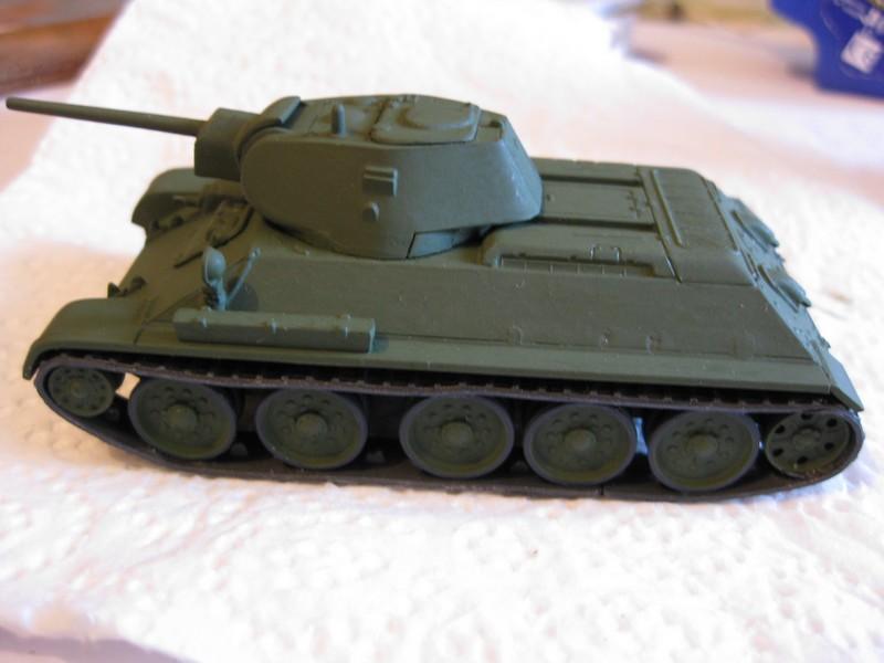 T-34/76 Model 1940 [ Revell/Matchbox; 1/76 ]:FINI ! - Page 2 Photo155