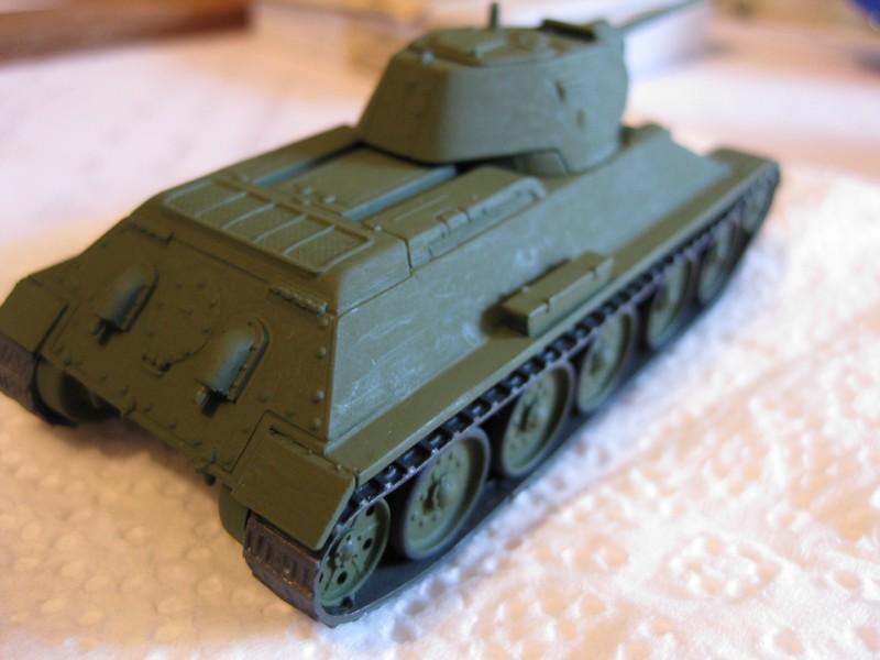 T-34/76 Model 1940 [ Revell/Matchbox; 1/76 ]:FINI ! - Page 2 Photo157