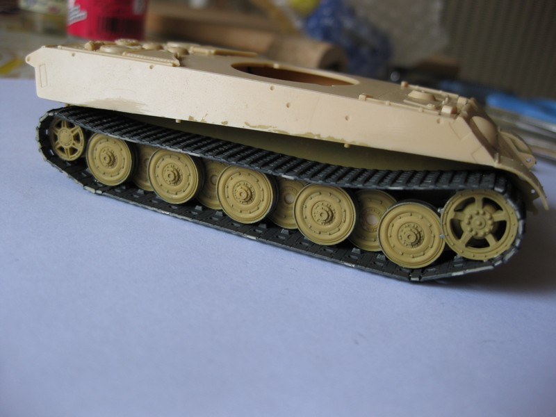 Tiger II Ausf. B Production Turret [Revell, 1/72 ]: FINI! (Ouf!) - Page 2 Photo163