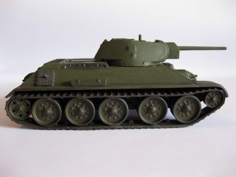 T-34/76 Model 1940 [ Revell/Matchbox; 1/76 ]:FINI ! - Page 2 Photo165