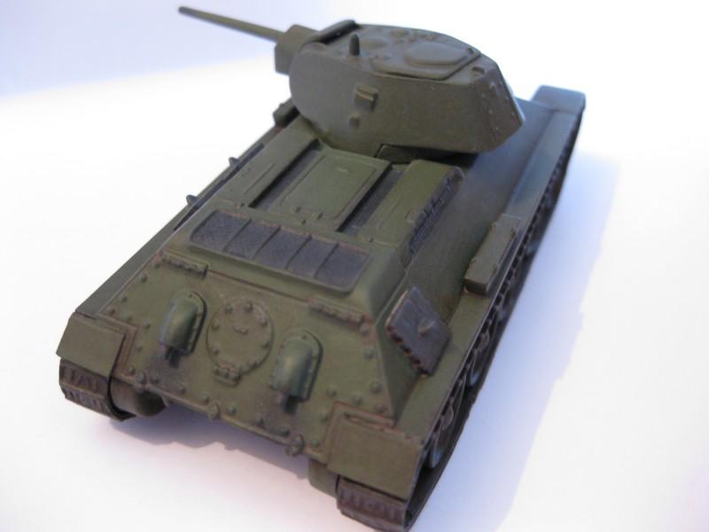T-34/76 Model 1940 [ Revell/Matchbox; 1/76 ]:FINI ! - Page 2 Photo174