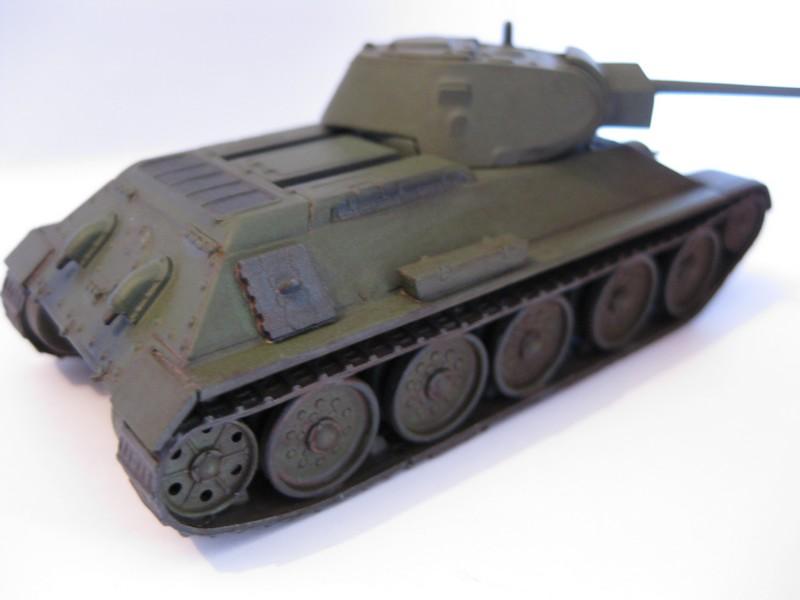T-34/76 Model 1940 [ Revell/Matchbox; 1/76 ]:FINI ! - Page 2 Photo177