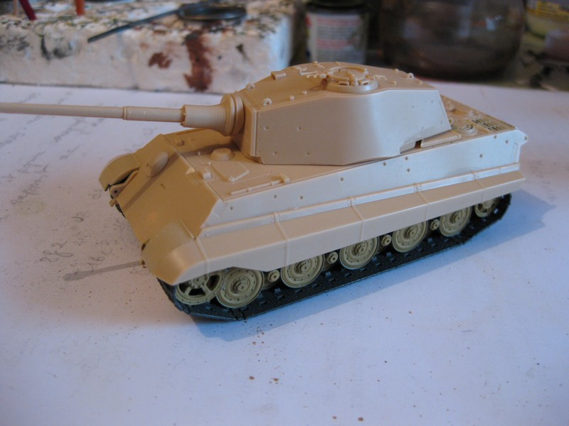 Tiger II Ausf. B Production Turret [Revell, 1/72 ]: FINI! (Ouf!) - Page 2 Photo180