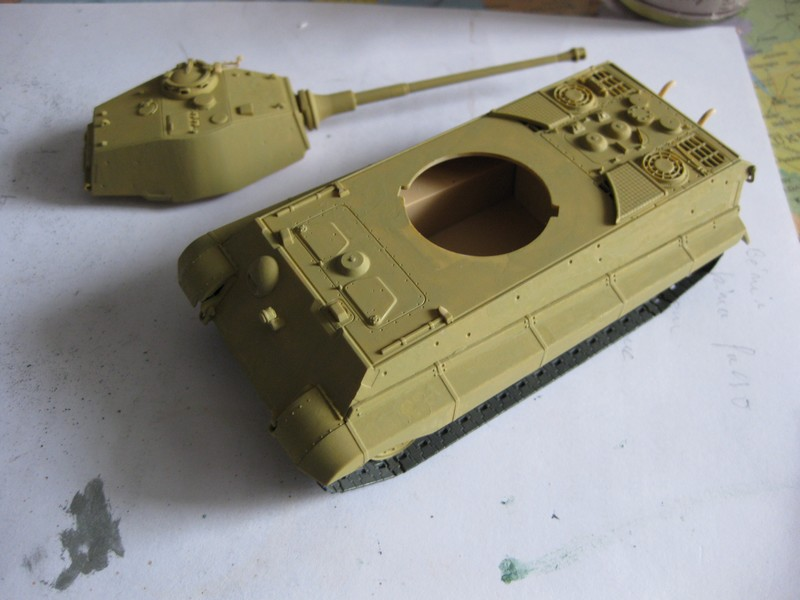 Tiger II Ausf. B Production Turret [Revell, 1/72 ]: FINI! (Ouf!) - Page 3 Photo183