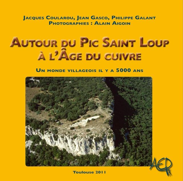 Sortie d'un livre sur le chalcolithique languedocien  Couver10