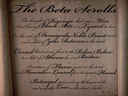 The Beta Scrolls