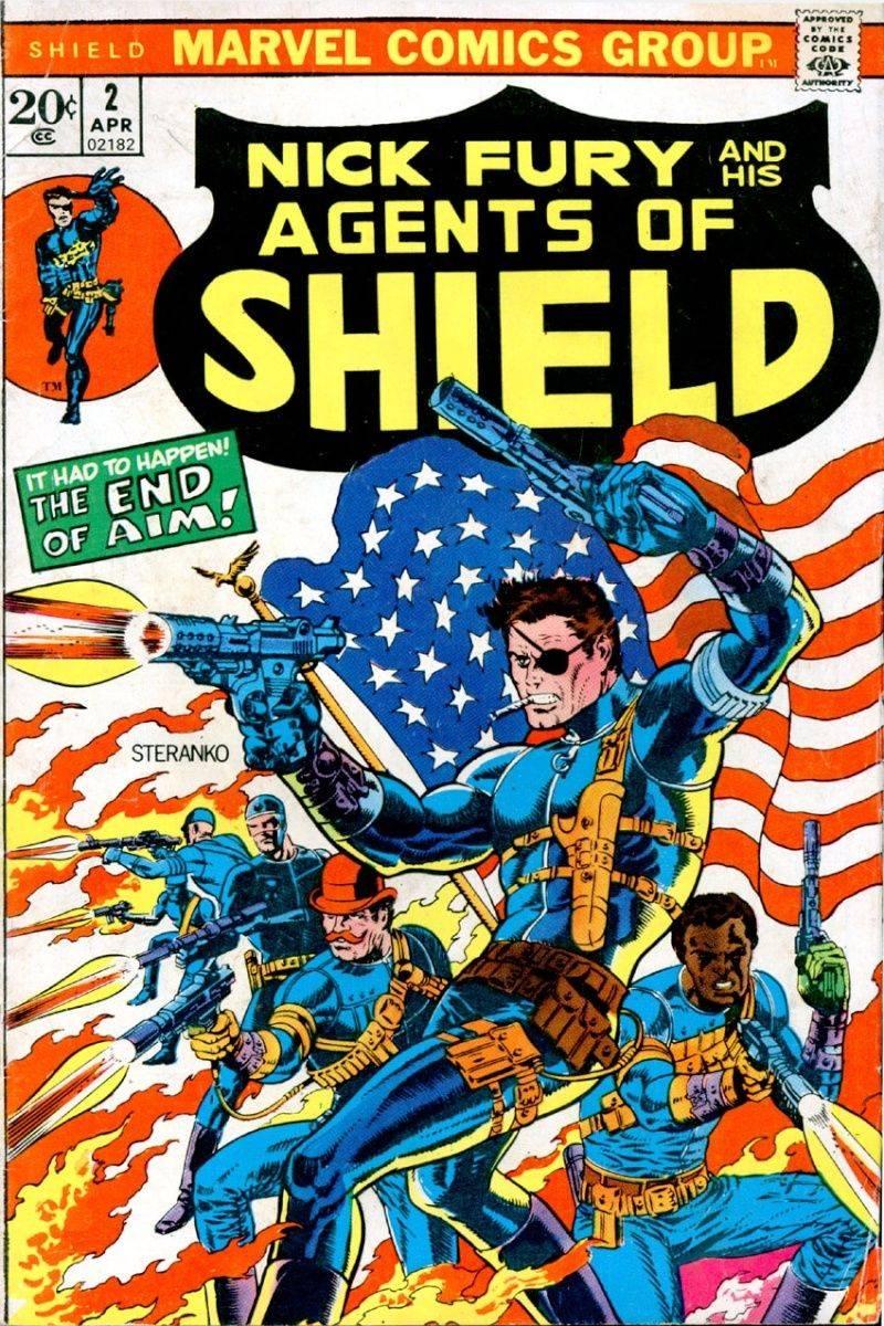 qui se rapelle la bd de nick fury ? patron du shield 36263110
