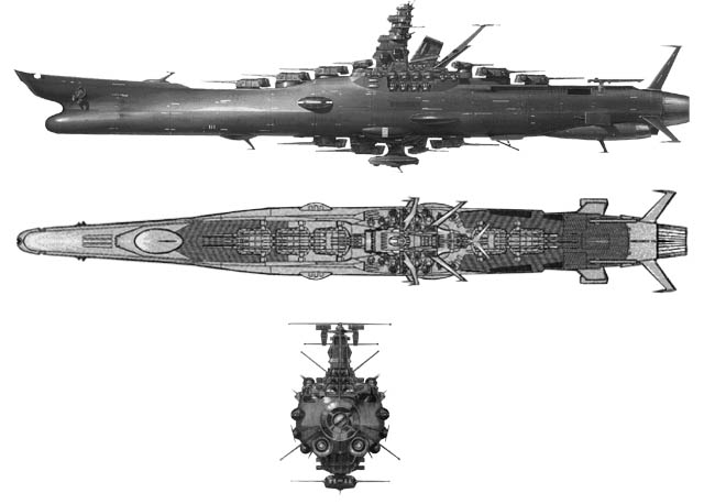 un film japonais style albator : space Battleship  Yamato10