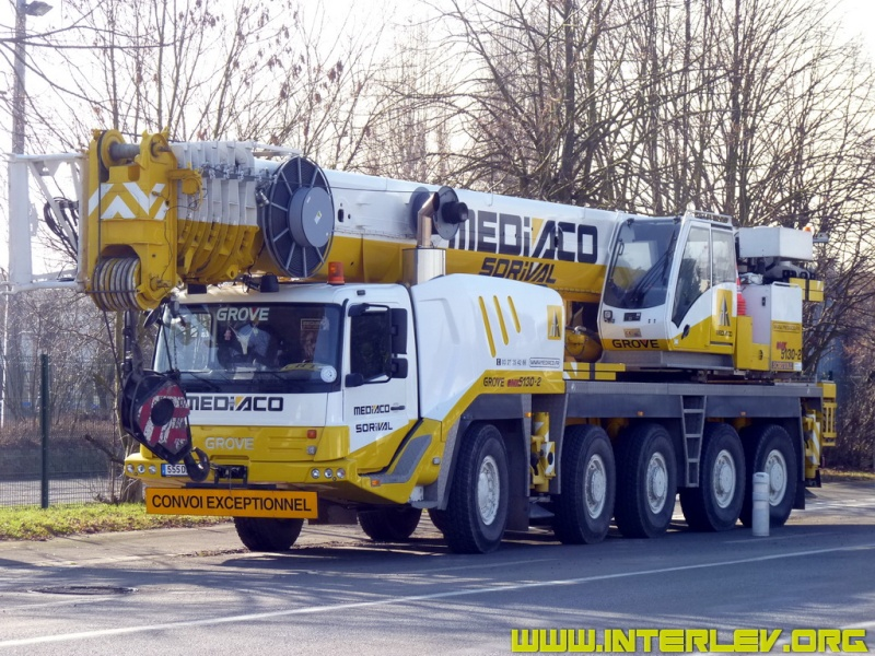 Les grues de SORIVAL (Groupe MEDIACO) (France) - Page 3 2011-010