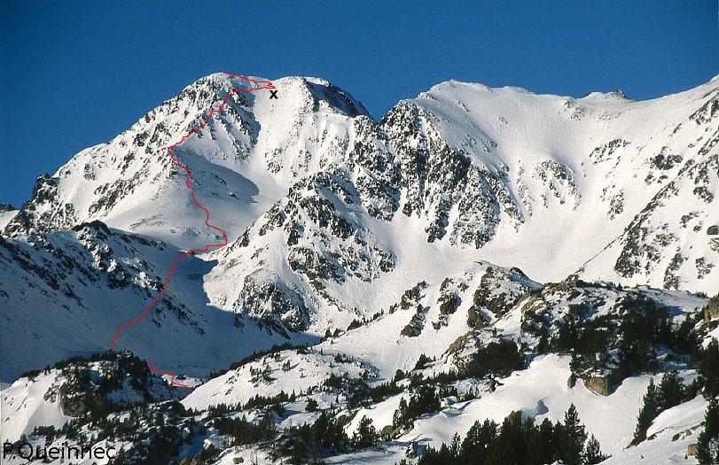 COMPLICADA ASCENSION AL CARLIT (2921 mts) EN FRANCIA Carlit10