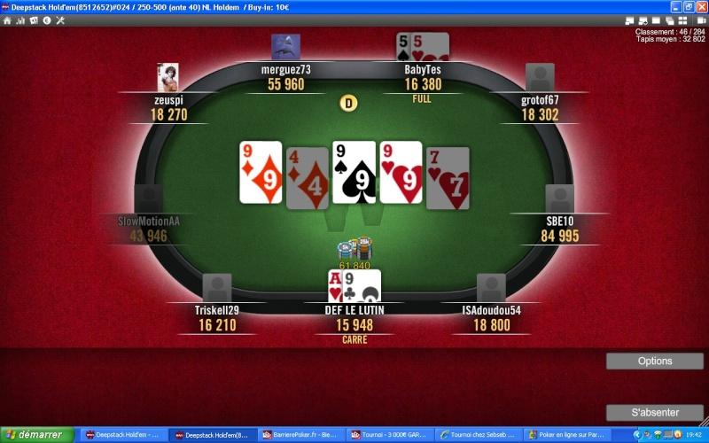 Naissance de la RB2D Team Poker Carree10