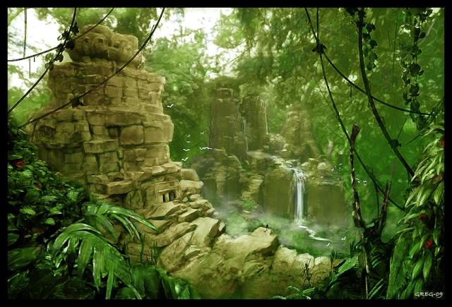Léos AFFELAN - Chevalier Jedi Cathar Jungle11