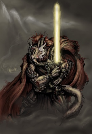 Léos AFFELAN - Chevalier Jedi Cathar Laos_a12