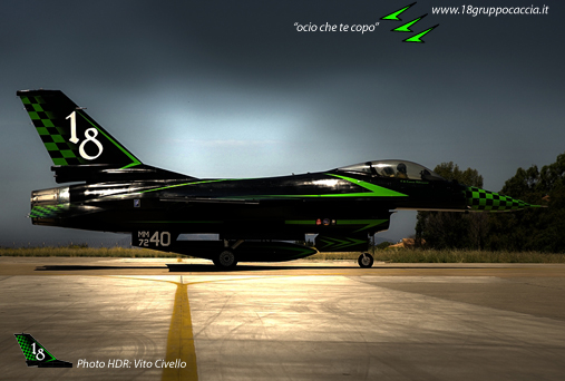 Green Lighting F-16 ADF Special colour  1-48 scale Hdr_0210