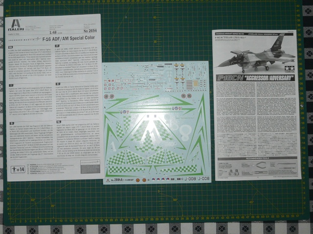 Green Lighting F-16 ADF Special colour  1-48 scale P1050511