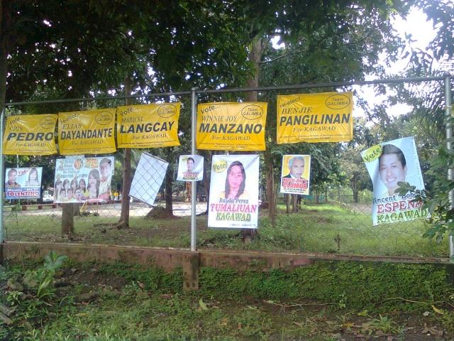 Baranggay Election Posters - Sino magtatanggal nito? Image011