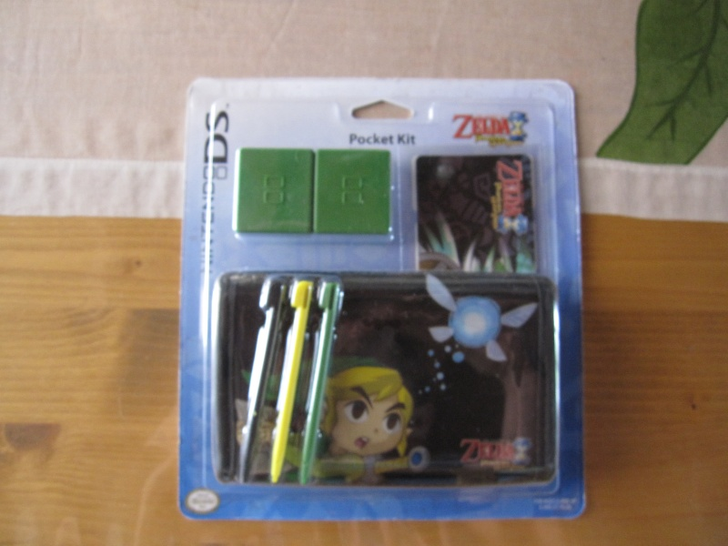 Mes achats NINTENDO pas cher accessoires DS ZELDA & MARIO ! Img_3515