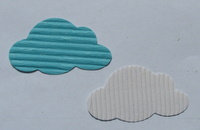 Corrugated card clouds Img_3318