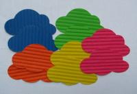 Corrugated card clouds Img_3319