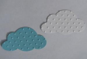 Embossed cardstock clouds Img_3635