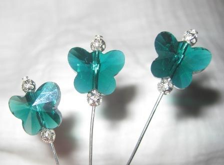 a little bit fANTsy - plain (but cute) pins Teal_b10