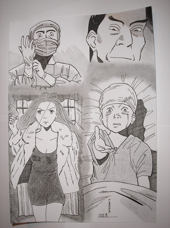 Mon unique dessin manga Dessin13