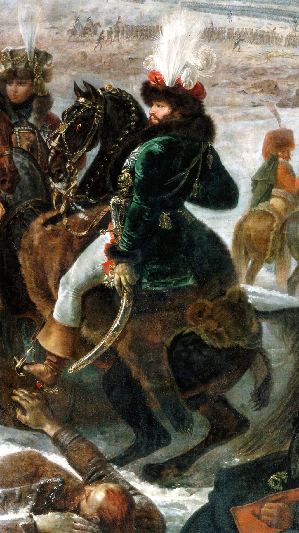 Eylau, dimanche 8 février 1807 Image110