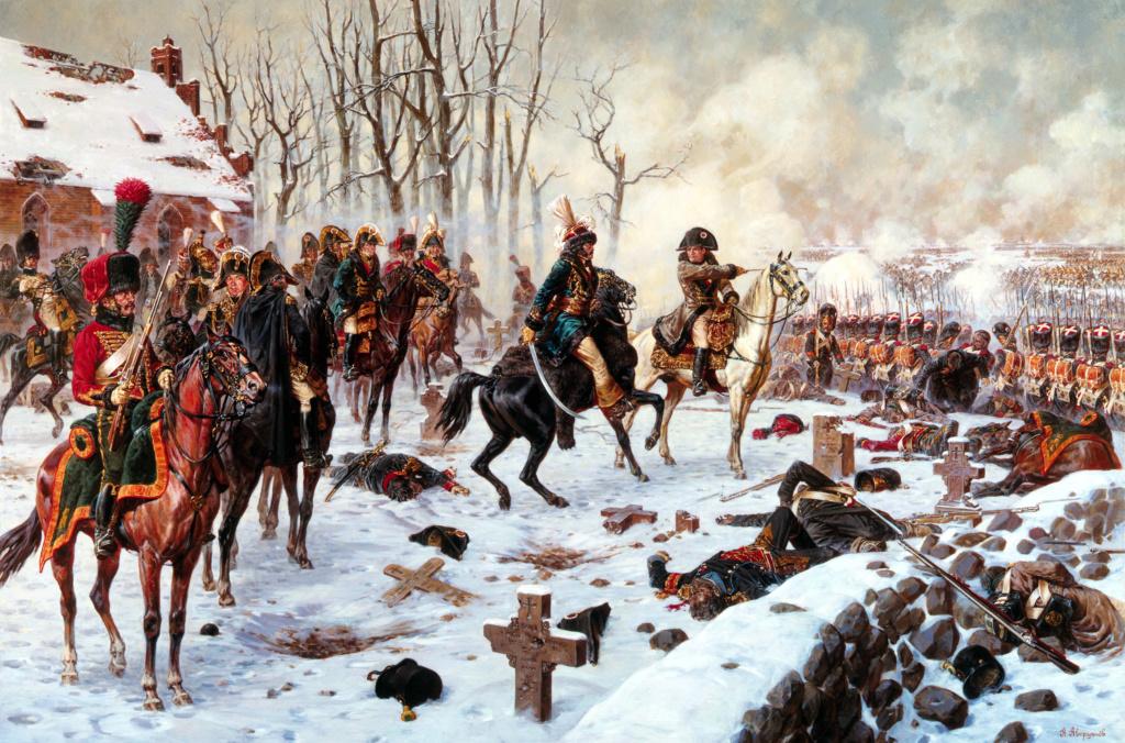 Eylau, dimanche 8 février 1807 Murat_10