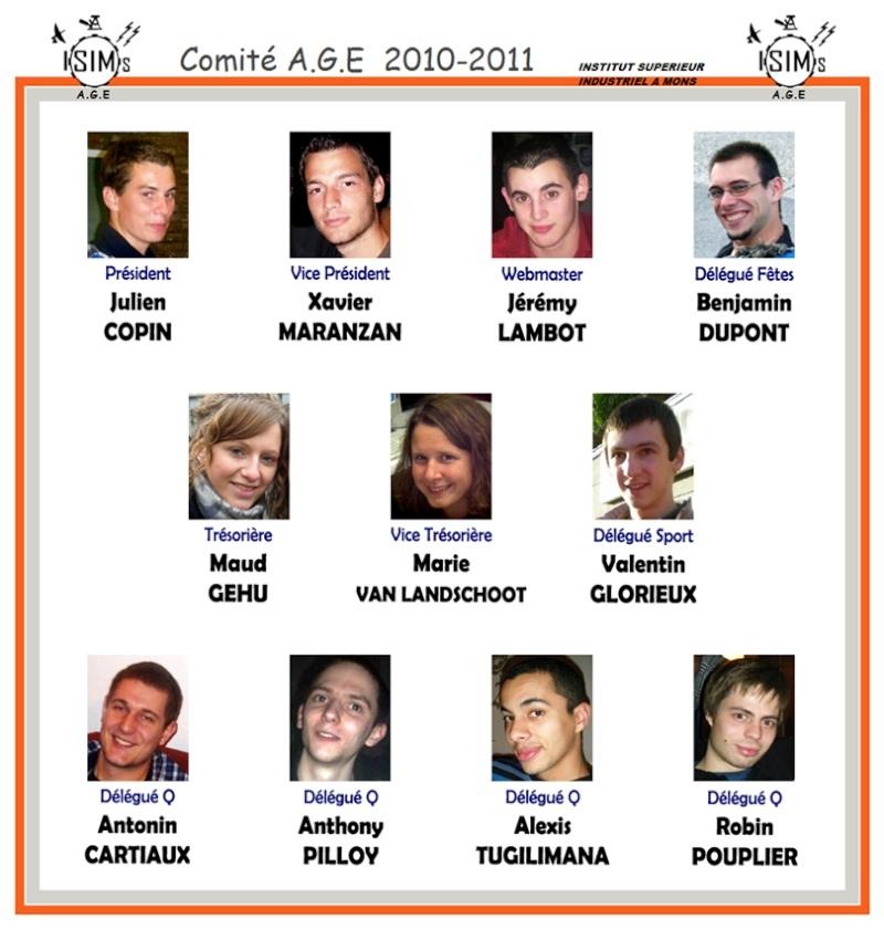Comité A.G.E 2010-2011 Comita11
