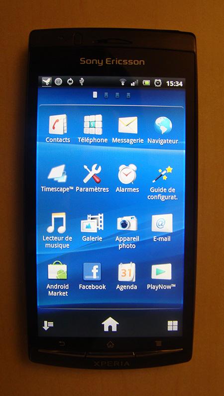 [PRESENTATION] Sony Ericcson Xperia Arc X12 Xperia10