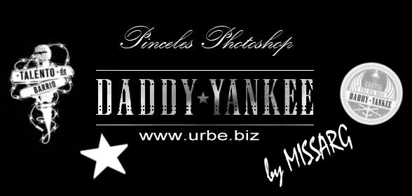 Pack de pinceles Photoshop de Daddy Yankee logos Pincel10