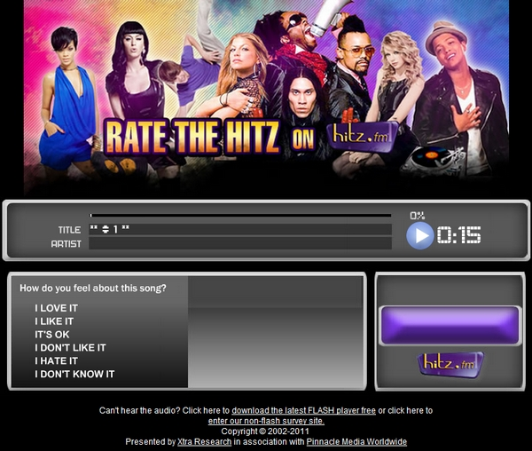 TH on Hitz.FM's Rate the Hitz Rate_t10