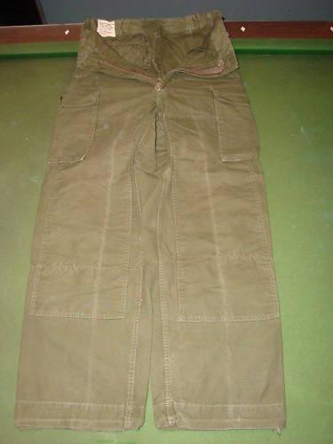 1967 Quarpel Combat Jacket & Trousers B5k2qe10