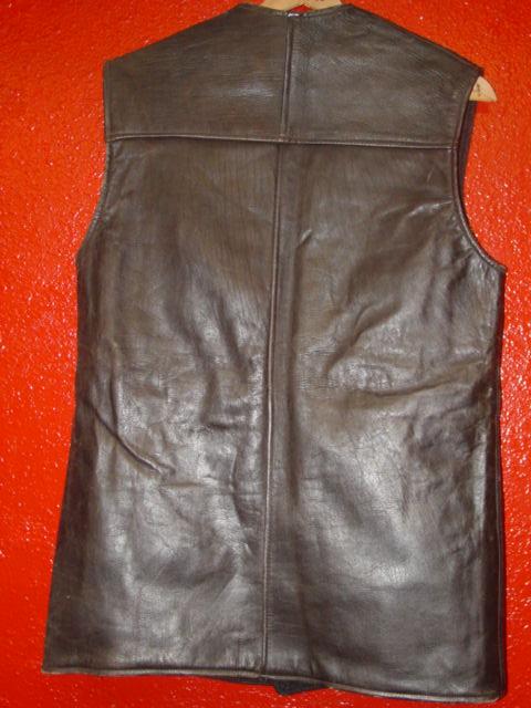Canadian Leather Jerkin D_180911