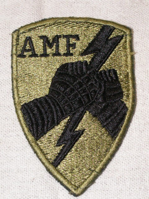 AMF Patch & Pocket Badge Front12