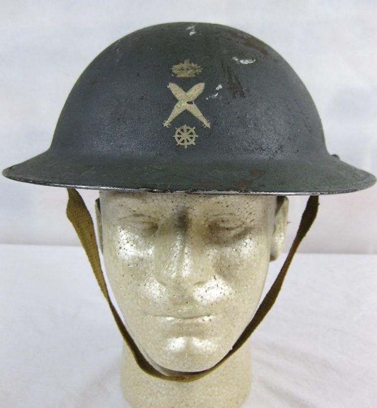 Ebay-WW2 Canadian Dday Landing Craft Pilots Helmet Kgrhqf10