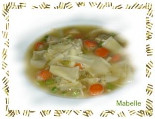 Soupe Poulet et nouilles Dsc06212