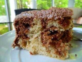 Gâteau Céleste au beurre d'arachide Dscn0215