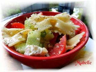 Salade de pâtes à la Fêta Dscn0221