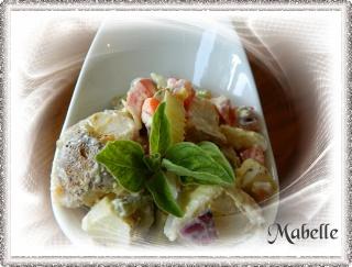 Salade de pommes de terre rapide Dscn0313