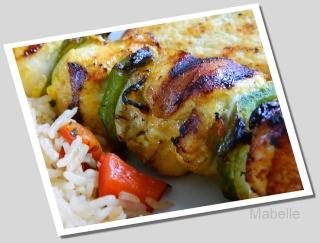 Brochettes de poulet à l'indienne Dscn0318